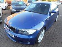 2008 BMW 1 SERIES 2.0 118D M SPORT 3d 141 BHP £5490.00