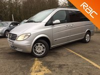 USED 2006 56 MERCEDES-BENZ VIANO 2.2 CDI LONG AMBIENTE 5d AUTO 7 SEATS, REAR DVD LWB TRAVEL IN STYLE, STUNNING RARE EXAMPLE