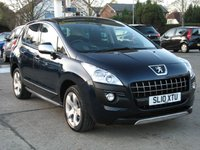 2010 PEUGEOT 3008 1.6 EXCLUSIVE HDI 5d AUTO 110 BHP £5995.00