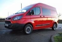 2014 FORD TRANSIT CUSTOM 2.2 290 LR P/V 1d 124 BHP £9995.00