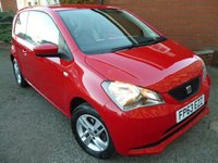 2013 SEAT MII 1.0 TOCA 3d 59 BHP Sat Nav, Bluetooth, Parking Sensors £4860.00