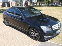 USED 2012 62 MERCEDES-BENZ C CLASS 2.1 C220 CDI BlueEFFICIENCY AMG Sport Plus 7G-Tronic Plus 4dr (Map Pilot)