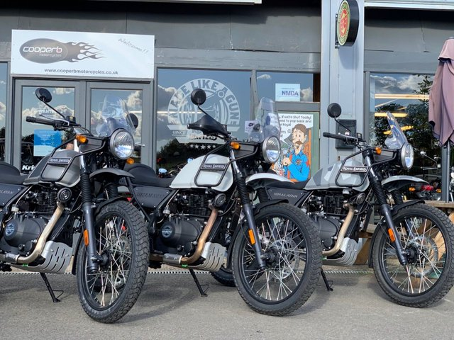 USED 2020 ROYAL ENFIELD HIMALAYAN ABS ROYAL ENFIELD HIMALAYAN IN NORTHANTS BEDFORDSHIRE BUCKINGHAMSHIRE