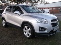 USED 2014 14 CHEVROLET TRAX 1.7 VCDi LT 4X4 5dr (start/stop) 1 Owner From New