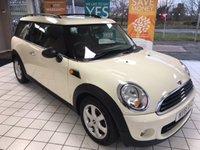 2012 MINI CLUBMAN 1.6 ONE D 5d 90 BHP £6999.00