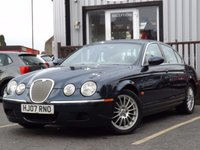 USED 2007 07 JAGUAR S-TYPE 2.7 XS D 4d 206 BHP FSH 10 STAMPS