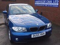 2005 BMW 1 SERIES 2.0 118I SE 5d AUTO 128 BHP £3995.00