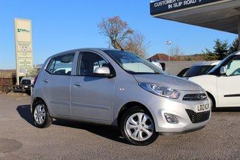 2012 HYUNDAI I10 1.2 ACTIVE 5d AUTO 85 BHP £5995.00