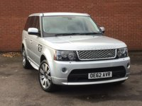 2012 LAND ROVER RANGE ROVER SPORT 3.0 TDV6 Autobiography  £32000.00