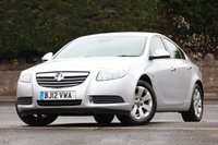 2012 VAUXHALL INSIGNIA 2.0 SE NAV CDTI ECOFLEX S/S 5d 157 BHP £6995.00