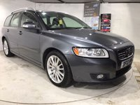 2012 VOLVO V50 1.6 DRIVE SE LUX EDITION S/S 5d 113 BHP £10500.00