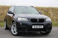 2012 BMW X3 2.0 XDRIVE20D M SPORT 5d AUTO 181 BHP £22695.00