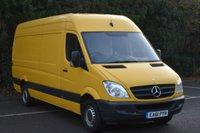 2011 MERCEDES-BENZ SPRINTER 2.1 313 CDI  5d 129 BHP LWB HIGH ROOF DIESEL MANUAL VAN  £5450.00