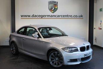 2011 BMW 1 SERIES 2.0 123D M SPORT 2DR AUTO 202 BHP £7970.00