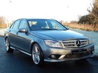 2008 MERCEDES-BENZ C CLASS 2.1 C220 CDI SPORT 4d AUTO 168 BHP £9490.00