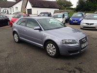 USED 2007 57 AUDI A3 1.9 TDI SPECIAL EDITION 3d 103 BHP PRICE INCLUDES A 6 MONTH RAC WARRANTY, 1 YEARS MOT AND A OIL & FILTERS SERVICE AND 12 MONTHS FREE BREAKDOWN COVER.