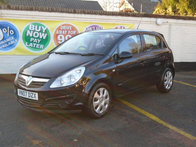 2007 07 VAUXHALL CORSA 1.4 CLUB A/C 16V 5d 90 BHP SORRY NOW SOLD