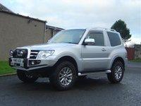 2010 MITSUBISHI SHOGUN 3.2 DI-D WARRIOR 3d AUTO 240 BHP £12950.00