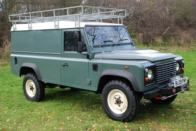 2009 09 LAND ROVER DEFENDER 110 2.4 TDi HARD TOP UTILITY 4x4