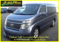 2002 NISSAN ELGRAND Highway Star 3.5 Automatic 8 Seats 4 Wheel Drive £6500.00