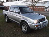 2003 MITSUBISHI L200 2.5 TD Warrior Limited Edition Crewcab Pickup 4dr £SOLD