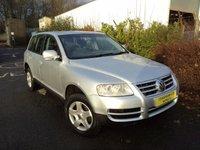 2004 VOLKSWAGEN TOUAREG 2.5 TDI 5d AUTO 172 BHP £4988.00