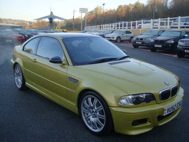 2002 52 BMW M3 3.2 M3 SMG 2d 338 BHP