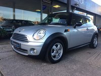 USED 2010 10 MINI HATCH COOPER 1.6 COOPER 3d 122 BHP Great condition 1 owner car.
