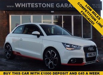 2012 AUDI A1 1.4 TFSI COMPETITION LINE 3d 122 BHP £9995.00