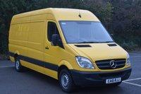 2011 MERCEDES-BENZ SPRINTER 2.1 313 CDI  5d 129 BHP LWB HIGH ROOF DIESEL MANUAL VAN  £8090.00
