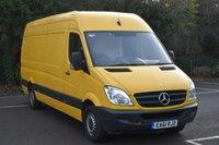 2011 MERCEDES-BENZ SPRINTER 2.1 313 CDI 5d 129 BHP LWB HIGH ROOF DIESEL MANUAL VAN  £7490.00