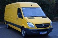 2011 MERCEDES-BENZ SPRINTER 2.1 313 CDI  5d 129 BHP LWB HIGH ROOF DIESEL MANUAL VAN  £8490.00