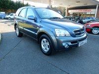 2004 KIA SORENTO 2.5 XE CRDI 5d AUTO 139 BHP £2990.00