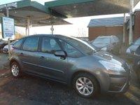 2010 CITROEN C4 PICASSO 1.6 VTR PLUS HDI EGS 5d AUTO 107 BHP £4995.00