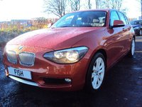 2012 BMW 1 SERIES 2.0 116D URBAN 5d 114BHP £8490.00