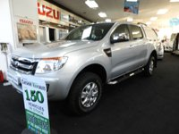 USED 2014 64 FORD RANGER 2.2 XLT 4X4 DCB TDCI  150 BHP FSH GENERAL GRABBER AT SAME DAY VAN FINANCE OPEN 7 DAYS PX WELCOME