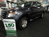 2013 FORD RANGER 2.2 LIMITED 4X4 DCB TDCI 150 BHP 1 LEASE OWNER FSH £14495.00