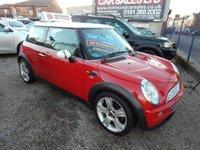 2004 MINI HATCH COOPER 1.6 COOPER 3d 114 BHP £1990.00