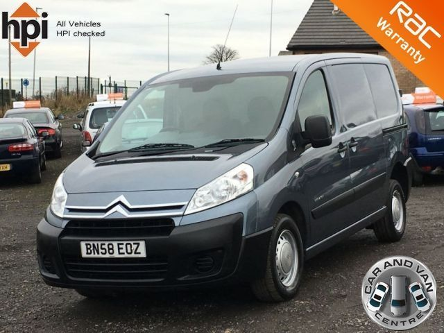 2008 58 CITROEN DISPATCH 1.6 1000 L1H1 HDI 90