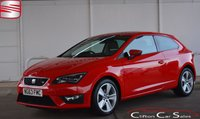 2014 SEAT LEON 2.0TDi FR TECHNOLOGY PACK COUPE 6-SPEED 150 BHP £11490.00