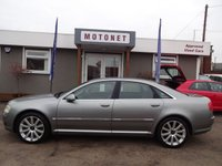 2004 AUDI A8 4.2 QUATTRO 4DR AUTOMATIC 330 BHP £7400.00