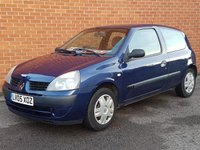 2005 RENAULT CLIO 1.1 AUTHENTIQUE 8V ** LOW INSURANCE **  £SOLD