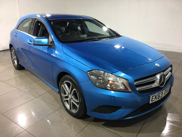 View our 2013 63 MERCEDES-BENZ A CLASS 1.8 A200 CDI BLUEEFFICIENCY SPORT 5d 136 BHP