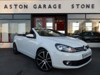 USED 2012 12 VOLKSWAGEN GOLF 2.0 GT TDI BLUEMOTION TECHNOLOGY 2d 139 BHP **FULL VW SERVICE HISTORY**