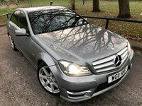 2011 MERCEDES-BENZ C CLASS 2.1 C200 CDI BLUEEFFICIENCY SPORT 4d AUTO 135 BHP £10990.00