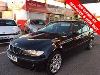 2004 BMW 3 SERIES 2.0 320 DIESEL SE 4d 148 BHP £2995.00