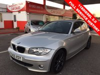 2005 BMW 1 SERIES 2.0 118D SE 5d 121 BHP £5495.00
