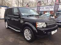 2010 LAND ROVER DISCOVERY 3.0 4 TDV6 HSE 5d AUTO 245 BHP £20995.00