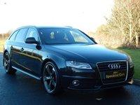 2009 AUDI A4 2.0 AVANT TDI S LINE DPF 5d 141 BHP £8990.00