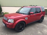 USED 2012 LAND ROVER DISCOVERY DISCOVERY 4 3.0 SDV6 HSE 5d AUTO 255 BHP BLACK EDITION, PRIVACY GLASS, GLOSS BLACK ALLOYS.